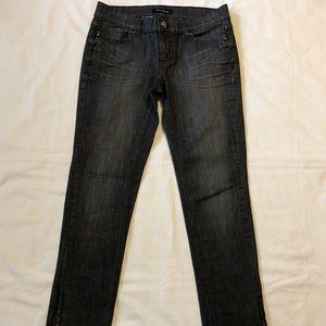 White House Black Market Noir Slim Ankle Jean